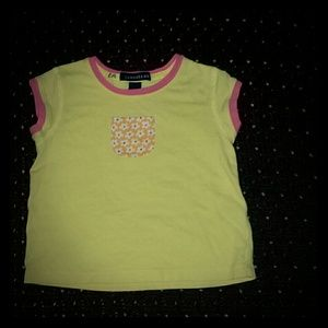 Lands' end yellow top size 3T